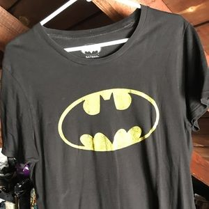 Other - Batman Short Sleeves Black Tee